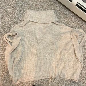 abercrombie and fitch sweater turtle neck sweater